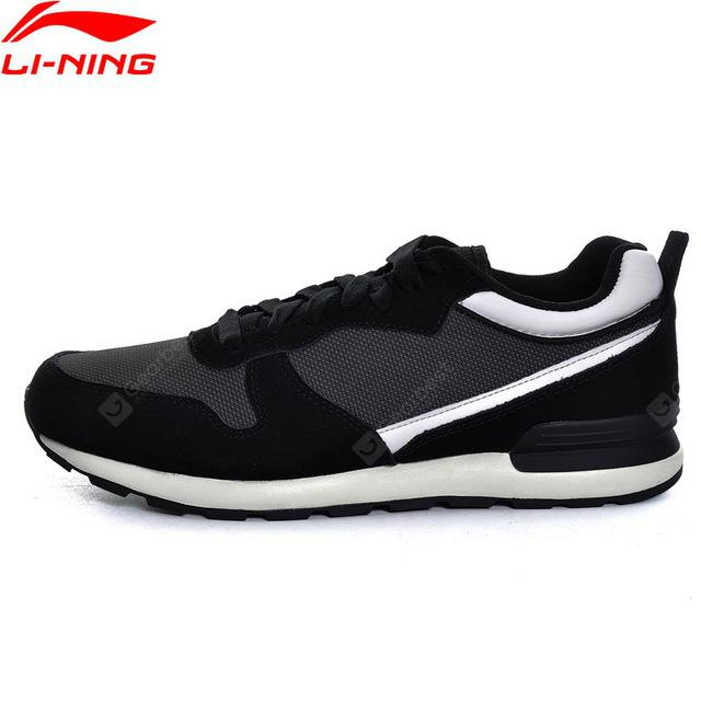 Li-Ning Men Sports Shoes Walking Shoes Fitness Comfortable Sneakers  Stability LiNing Sneakers Sports Shoes GLKM105-1