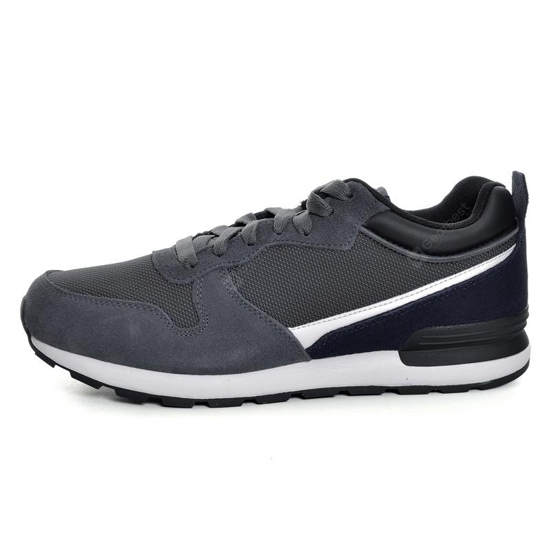 Li-Ning Men Sports Shoes Walking Shoes Fitness Comfortable Sneakers  Stability LiNing Sneakers Sports Shoes GLKM105-2