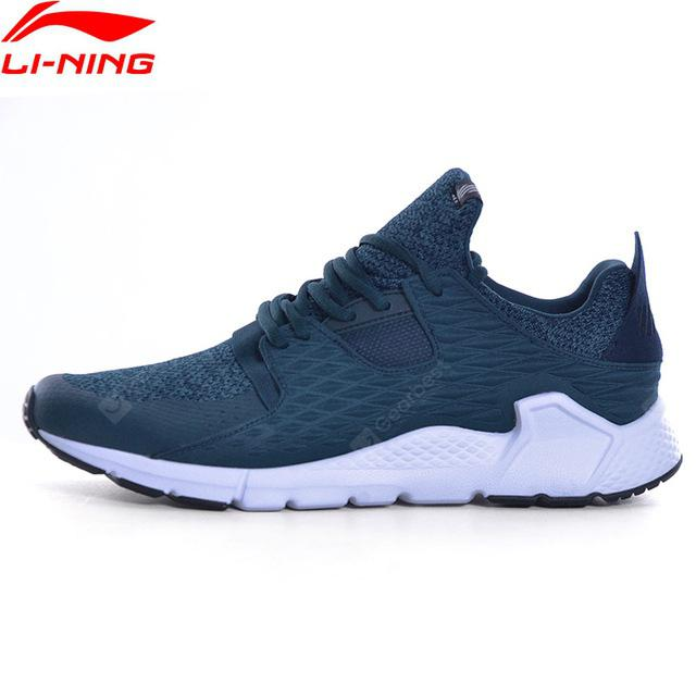 Li-Ning Men Shoes Walking Shoes Fitness Comfortable Stability Light Weight Sneakers  Sports  Leisure Shoes GLKM111-3