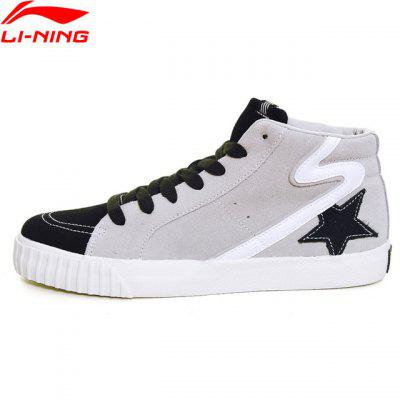 Li-Ning Women Back Star Sports Life Walking Shoes Fitness Sneakers Soft Comfort LiNing Leisure Shoes GLKM176-2