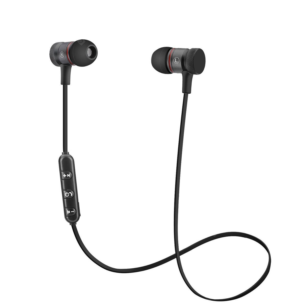 HB-21 neck-mounted headphones - BLACK