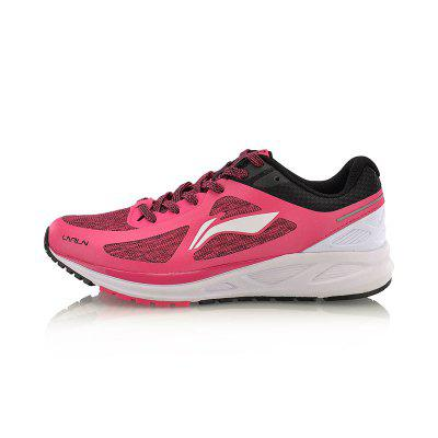 Li-Ning Women FLASH Light Weight Running Shoes Cushion Breathable LiNing Sports Shoes Sneakers ARBM034-4