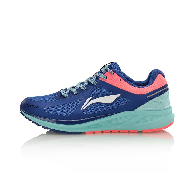 Li-Ning Women FLASH Light Weight Running Shoes Cushion Breathable LiNing Sports Shoes Sneakers ARBM034-6