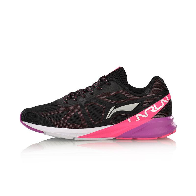Li-Ning Women Colorful Cushion Running Shoes Breathable LiNing Sports Shoes Sneakers ARHM054-1