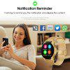 Excelvan K88H Smart Watch Pedometer Heart Rate Monitor Call/SMS Reminder Sleep Monitor IOS Android - GINGER