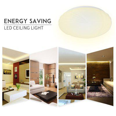 Lampwin 12W LED Ceiling Mount Light Fixture White  Round Flush Mount Energy Saving for Bedroom Living Room Kitchen Balcony