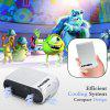 YG320 Palm Size Multimedia Projector With 600 Lumens High Brightness  Support 1080P HDMI USB AV TF Headphone Micro SD Interfaces Available - FROST