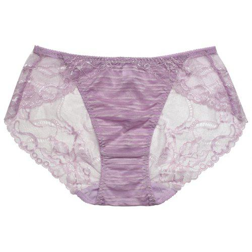 5e4f1029c8 Women Lace Trim Sexy See Through Underwear Panty - Rs0.00 Fast ...