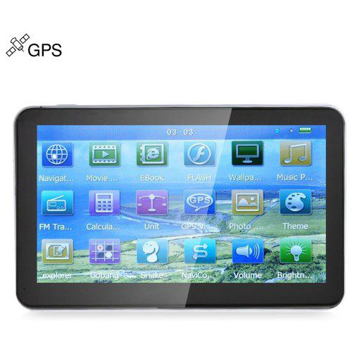 VETOMILE 704 7 Car Hire GPS Navigation Navigator with Free Maps Win CE 6.0 / Touch Screen / E-book / Video / Audio / Game Player
