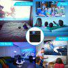 Exquizon S6 Mini Cube DLP Pocket Projector - BLACK