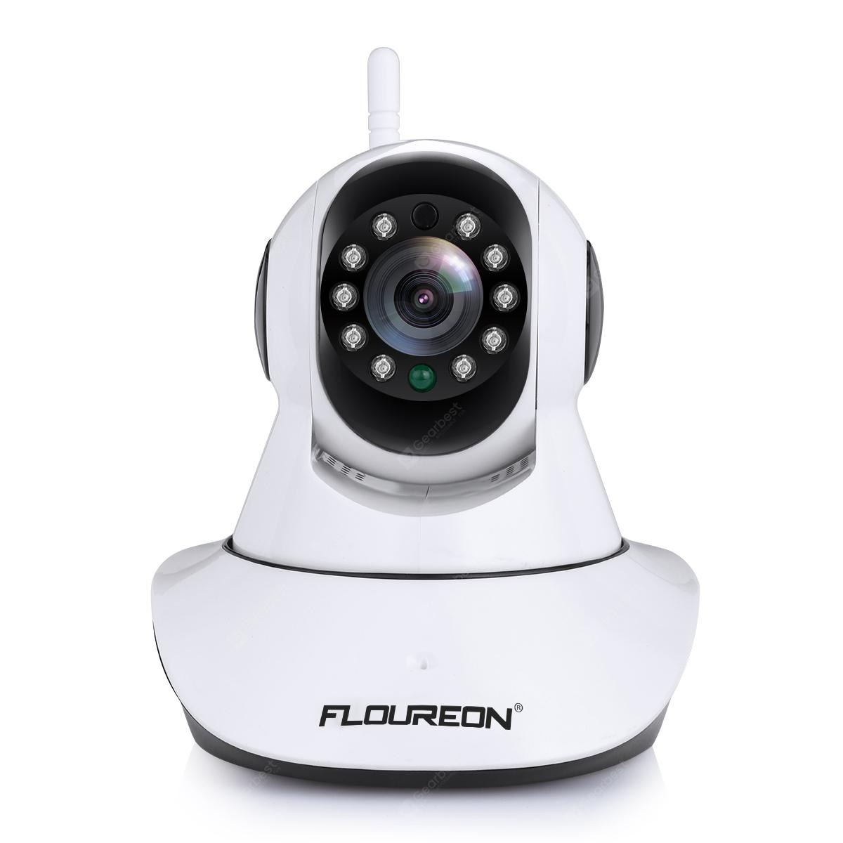 FLOUREON 720P Wifi 1.0 Megapixel Wireless Pan/Tile  CCTV Security IP Camera EU