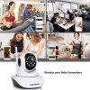 FLOUREON 720P Wifi 1.0 Megapixel Wireless Pan/Tile  CCTV Security IP Camera EU - WHITE