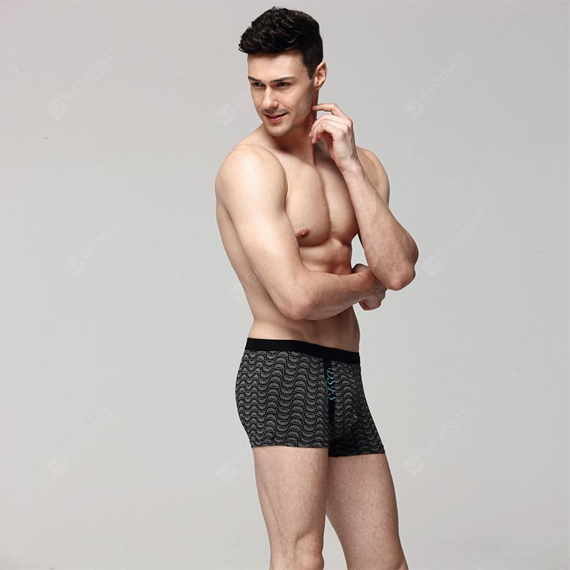Cosmo Esquire Men Modern Strench Soft Modal Lycra Fiber Trunk Underpants Boxer 218121
