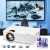 Excelvan mini LED projector 800x480 pixels 1200 lumens Home Cinema theater HDMI/USB/USB(5V)/SD/AV/VGA/3.5mm EHD09(GP9)