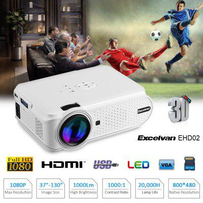 Excelvan Mini Projecteur LED Portable