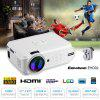 Excelvan Portable Mini LED Projector - BíLý
