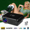 Excelvan Portable Mini LED Projector - BLACK