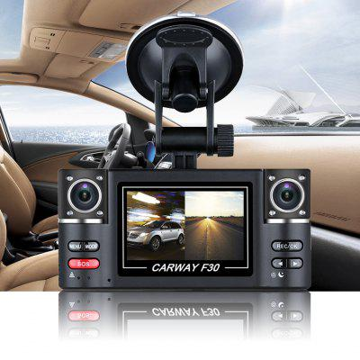 "VO-030 2.7"" HD 1080P Dual lens Car DVR Vehicle Digital Video Camera Recorder"