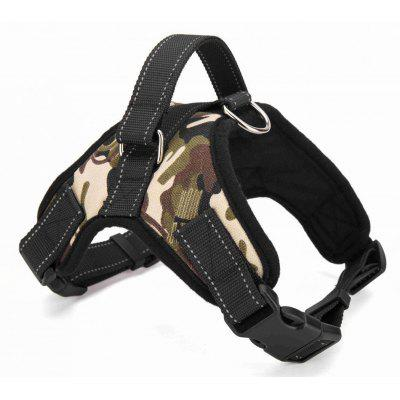 Dog Soft Adjustable Harness Vest Dog Chest Strap Walk Out Hand Strap Vest Dog Collar for Large Medium Small Dogs