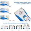 Pet Electric Grooming Clipper Rechargeable Waterproof - BLUE