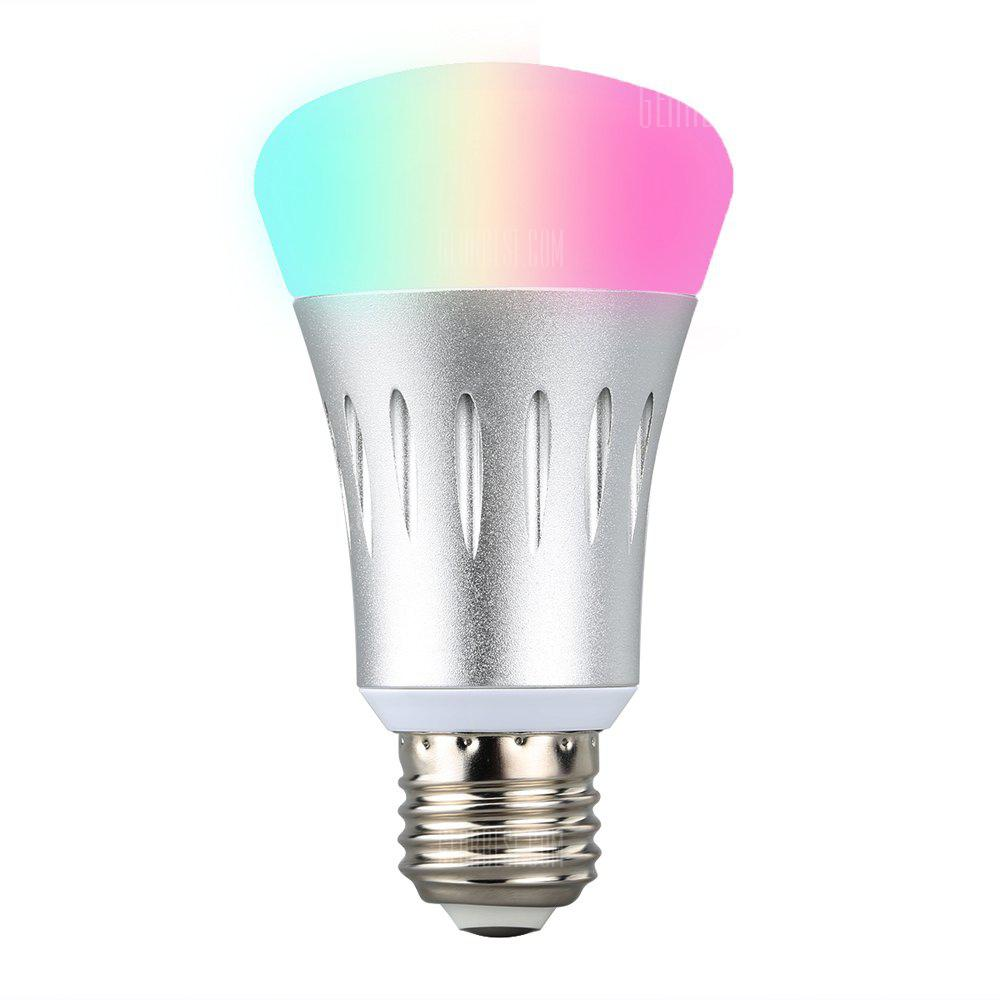 Excelvan WiFi Smart LED Bulb Works with Amazon Alexa E27 Dimmable Multicolored LED for iOS Android App Control / Voice Control Home Lighting - MULTI PACK OF 1