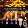 Diggro Smart Wi-Fi Bulb Dimmable 16 million colors (white +RGB) Led Bulb Compatible with Alexa Echo Remote Control by Smartphone IOS & Android  E26 - WHITE