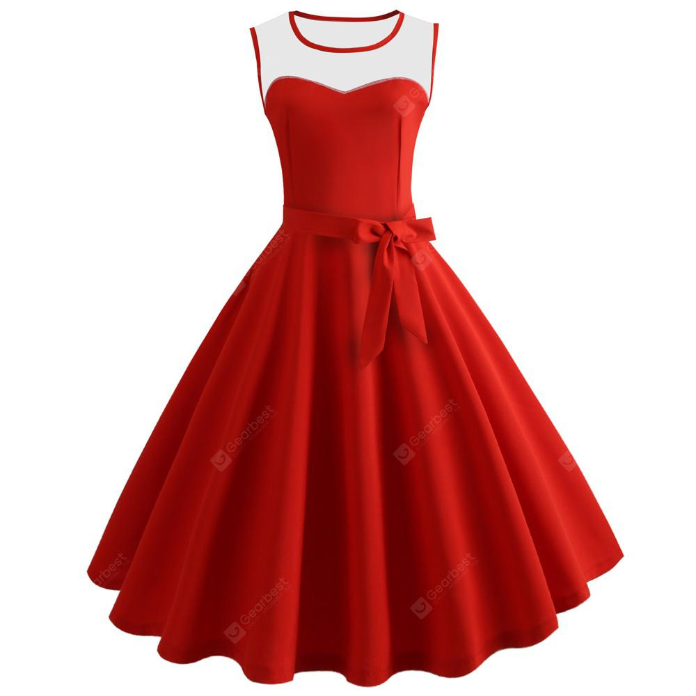 1a502c0a145 Hepburn Vintage Series Women Dress Spring And Summer ...