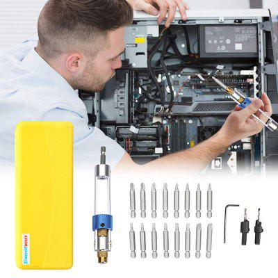 Excelvan 20 in one High Speed Steel Drill Bits,Batch Screwdriver Bits/Opening Tool for Cell Phone, Laptop, PC, Car and other devices Easily Applying and Installing/Professional Screwdriver