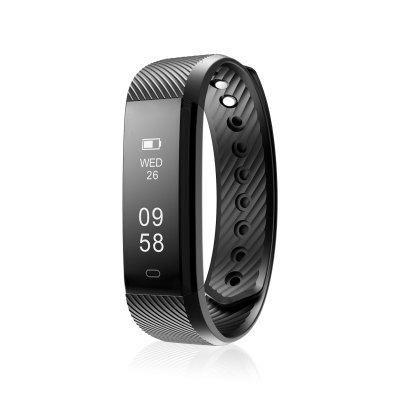Diggro Id115 Smart Bracelet Bluetooth 4 0 Pedometer Calorie Sleep Monitor Call Sms Reminder Sedentary