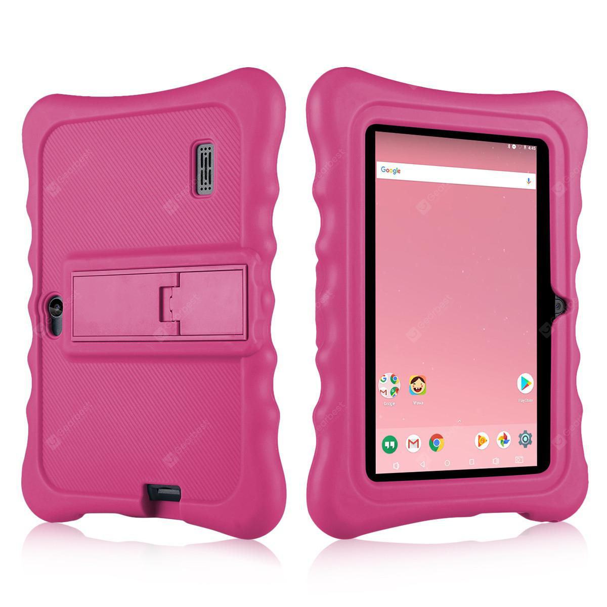 "Ainol Q88 Kids Android 7.1 OS Tablet 7"" Display 1G RAM 8 GB ROM Light Weight Portable Kid-Proof Shock-Proof Silicone Case Kickstand Available With iWawa For Kids Education Entertainment"