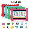 "Ainol Q88 Kids Android 7.1 OS Tablet 7"" Display 1G RAM 8 GB ROM Light Weight Portable Kid-Proof Shock-Proof Silicone Case Kickstand Available With iWawa For Kids Education Entertainment---Green - GREEN"
