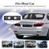 Excelvan European license plate frame with wireless rear view camera - BLACK
