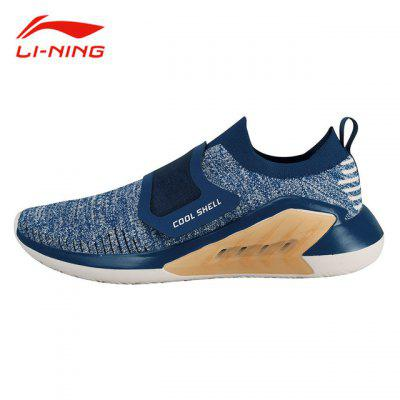 Li-Ning Men EXTRA Walking Shoes Breathable Mono Yarn Sports Casual Shoes Cushion Comfort Sneakers AGLN025-5 sale badminton shoes sneakers sport men sneaker free indoor man new professional walking breathable hard court medium b m