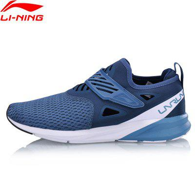 Li-Ning Men COLOR ZONE Cushion Running Light Breathable Sneakers Comfort Fitness Sports Shoes ARHN073-4 msstor retro women men running shoes man brand summer breathable mesh sport shoes for woman outdoor athletic womens sneakers 46