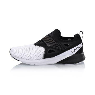 Li-Ning Men COLOR ZONE Cushion Running Light Breathable Sneakers Comfort Fitness Sports Shoes ARHN073-2 msfair 35 45 sports run men running shoes outdoor athletic sport shoes for men man brand summer breathable mesh womens sneakers