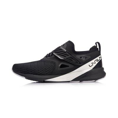 Li-Ning Men COLOR ZONE Cushion Running Light Breathable Sneakers Comfort Fitness Sports Shoes ARHN073-1 msfair 35 45 sports run men running shoes outdoor athletic sport shoes for men man brand summer breathable mesh womens sneakers