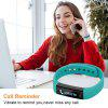 Diggro ID115HR Smart Bracelet Bluetooth 4.0 Pedometer Calorie Sleep Monitor Call/SMS Reminder Sedentary Reminder for Android IOS - GREEN