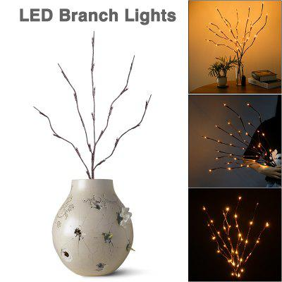 Warm White LED Branch Lamp 20 LED Battery Operated, 30 inch,  for Home Office Garden Decor