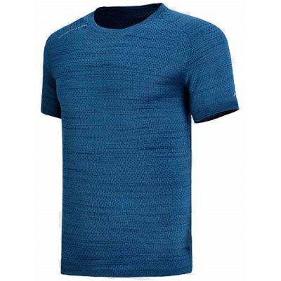 Li-Ning Mens Running Series At Dry T-Shirt Regular Fit Breathable Comfortable Sports Tee Tops Atsn045-4