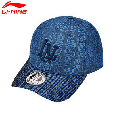 LINING Unisex Urban Baseball Caps 100% Polyester Sports Hats AMYM094-2 liliyabaihe new winter mens caps 7 sheet hat baseball caps casual hats caps of popular adjustable size hats fashion warm hat
