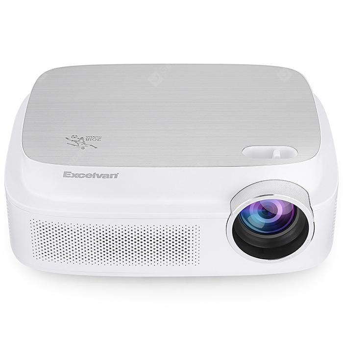 Excelview Q7 World Cup Memorial Projector - WHITE US
