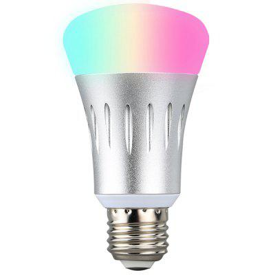 Excelvan WiFi Smart LED Bulb Works with Amazon Alexa E27 Dimmable Multicolored LED for iOS Android App Control / Voice Control Home Lighting