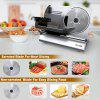 Mliter FS-9001A Food Slicer - METALLIC