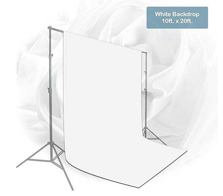 Craphhy 3*6 meters Photo Studio 100 Percent Pure Collapsible Backdrop Background for Photography, Video and Television (Background Only) - Green