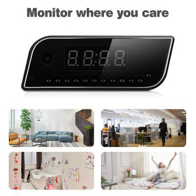 High - Definition Mirror Alarm Clock Wireless Intelligent Remote Clock Night Vision Lights Camera EU