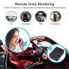 Car GPS Tracker Magnetic GPS Locator Voice Monitoring Standby 300 Days for Vehicles - BLACK