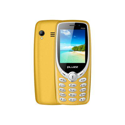 PLUZZ P520 1800mAh One Key Open Four Torches Feature Phone