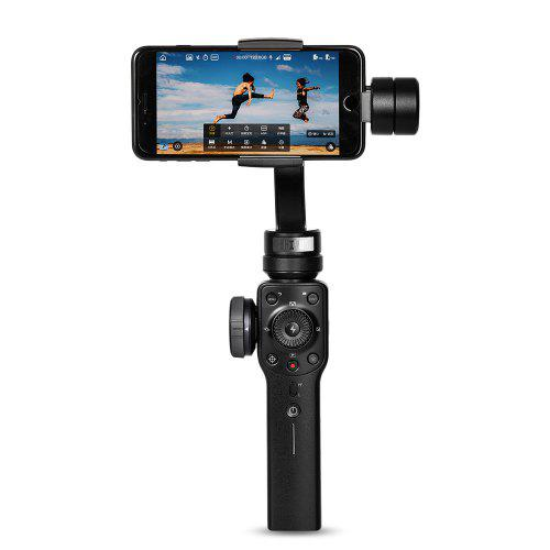 Zhiyi Smooth 4 3 восі Ручной Gimbal Стабілізатар для iPhone / Samsung Galaxy