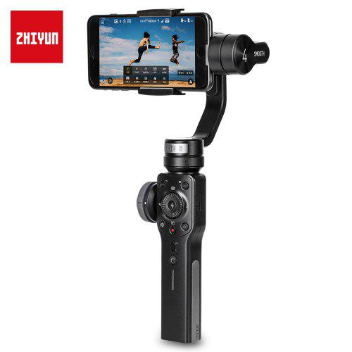 Zhiyun Smooth 4 3-axis Handheld Gimbal Stabilizer for iPhone / Samsung Galaxy - BLACK