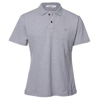 Men's high-quality fit short-sleeved Polo cotton shirt